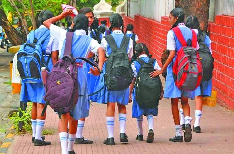 The weight of the bags of every child going to school will be decided now, the government issued a guideline