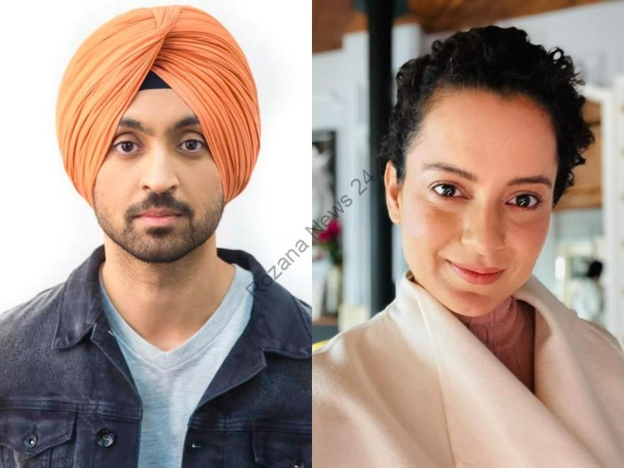 Kangana Ranaut once again lashed out at Diljit: taking a dig at Diljit's pictures and calling him a 'local revolutionary'